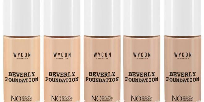 Il WYCON BEVERLY FOUNDATION è un fondotinta fluido a rapida asciugatura, la cui formulazione è priva di siliconi e parabeni.