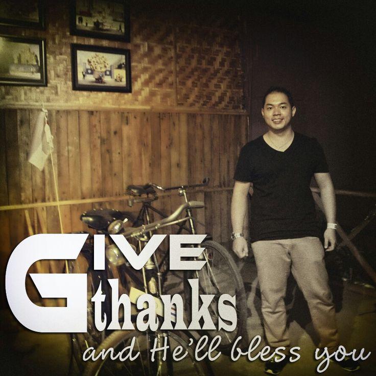 Bersyukur selalu buat kebaikanNya