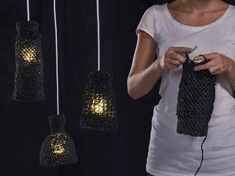 Lappajärvi Dye Works crochet lamp kits.