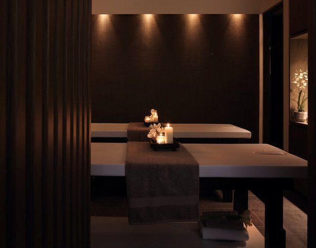 171 best spa treatment rooms images on pinterest spa for Spa treatment room interior design