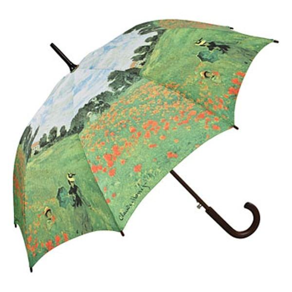 "Automatic umbrella Claude Monet ""Field of poppies"" ❤ http://www.beimjupiter.com/Media/Shop/5584a_az1.jpg"
