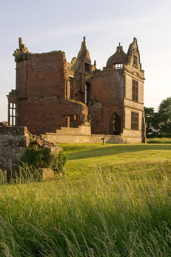Moreton Corbet Castle is an English Heritage property located near the village of Moreton Corbet, Shropshire, 8 miles northeast of Shrewsbury. It is a Grade I listed building. The ruins are from two different eras: a medieval stronghold and an Elizabethan era manor house. The buildings have been out of use since the 18th century.