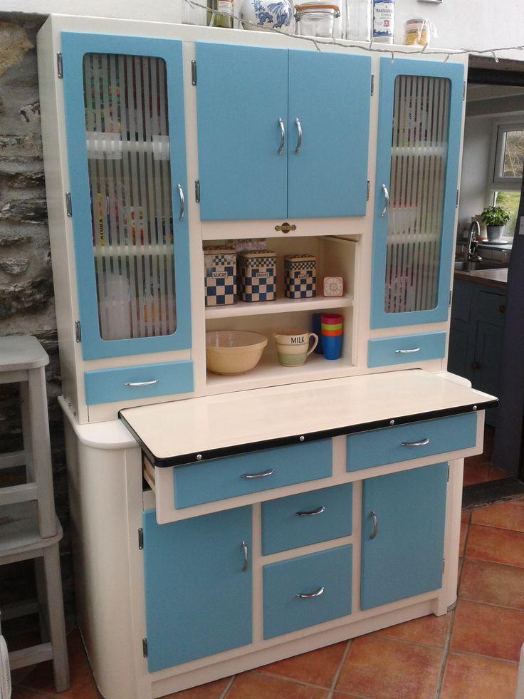 Refurbished 1950 S Hygena Queen Kitchen Cabinet In 2019