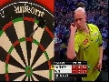 Michael van Gerwen threw the perfect 9 dart leg against his opponent Wade (30-Dec-2012) and almost followed it up with an almost unheard of perfect 18 darter (getting consecutive 501 scores