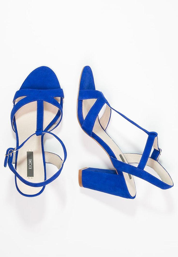 KIOMI Højhælede sandaletter / Højhælede sandaler - electric blue - Zalando.dk