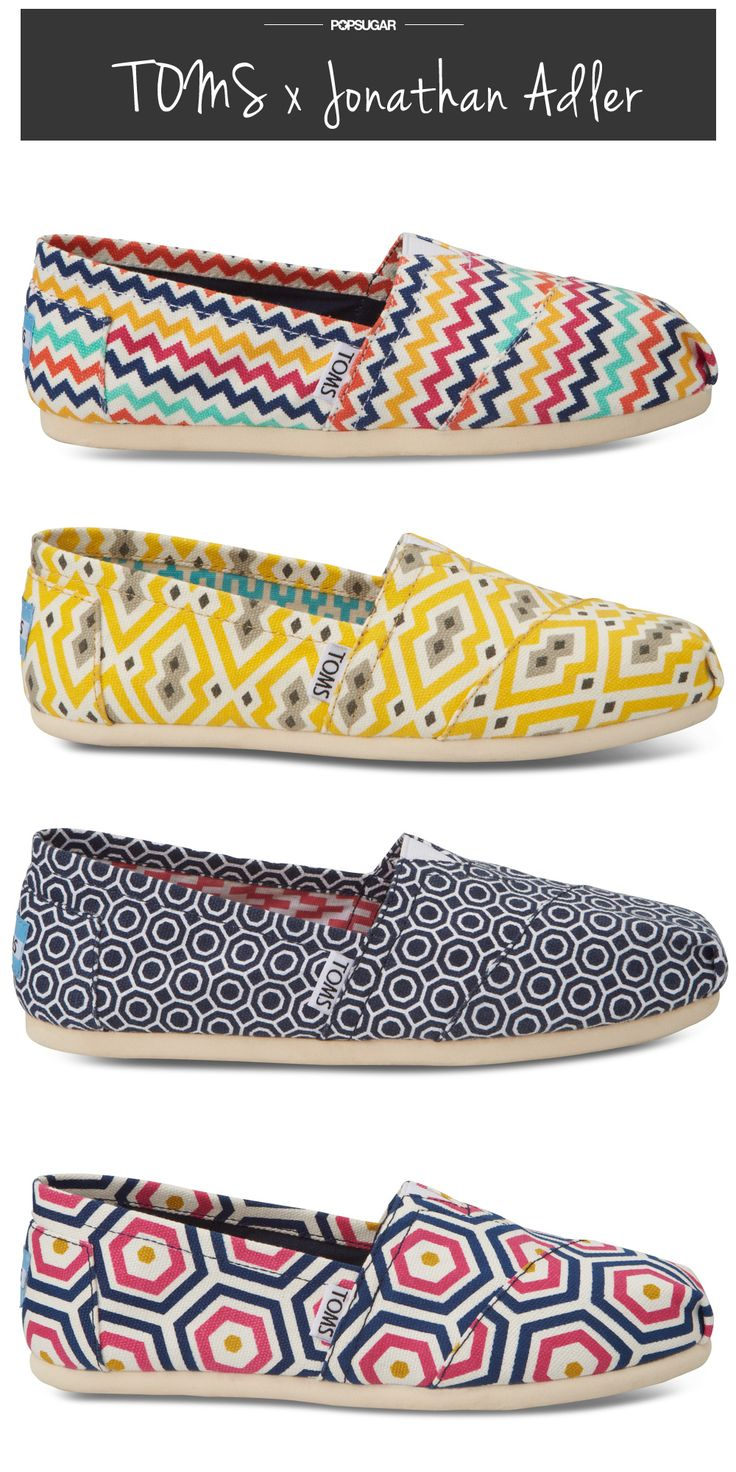 TOMS x Jonathan Adler? Yes, yes, yes.