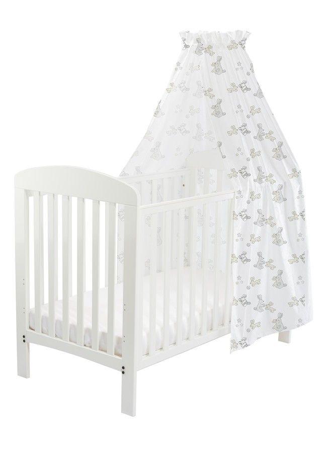 BabyDan / BunnyHop sengehimmel, grå