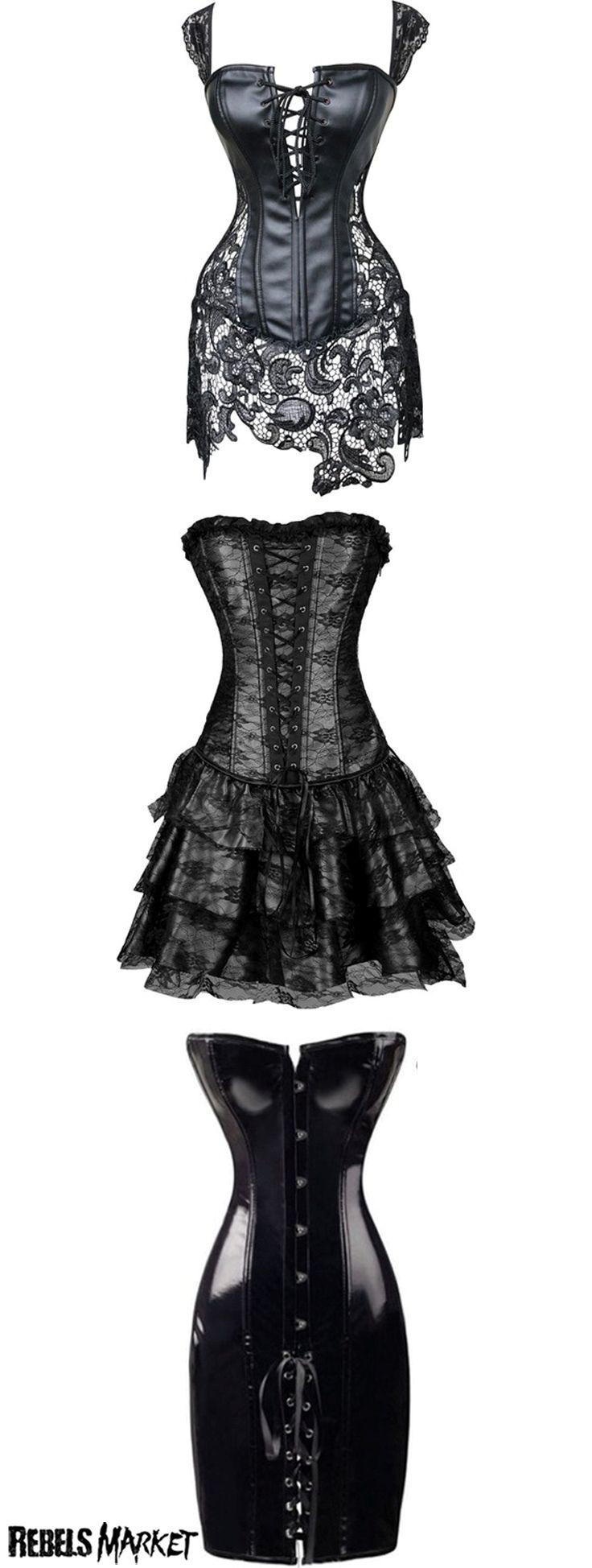 Shop goth corsets for spring at RebelsMarket.