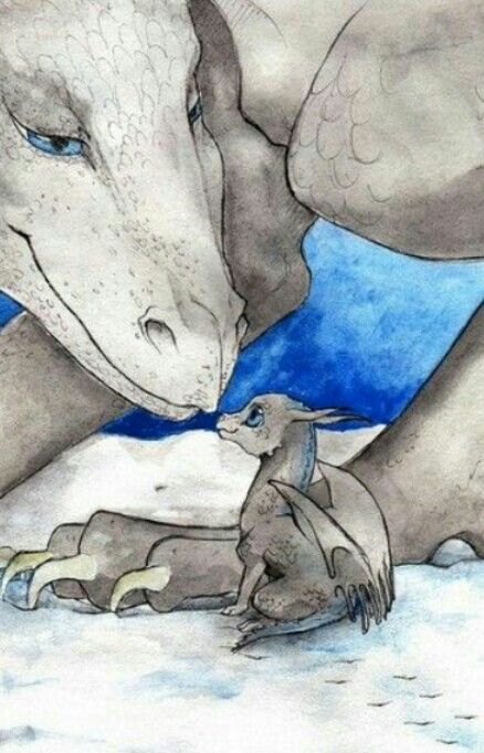 Motherly love - dragons