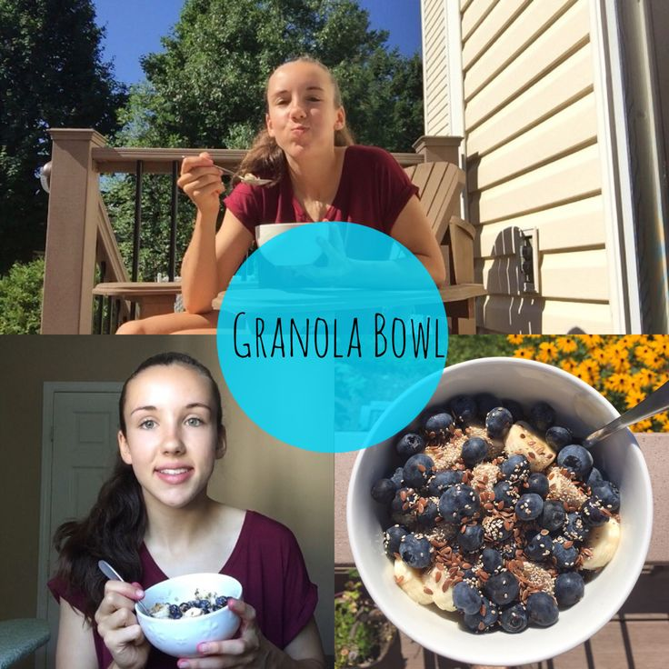Go and check out my latest video on how to make this simple, healthy and delicious granola bowl!!  {Link in my bio}