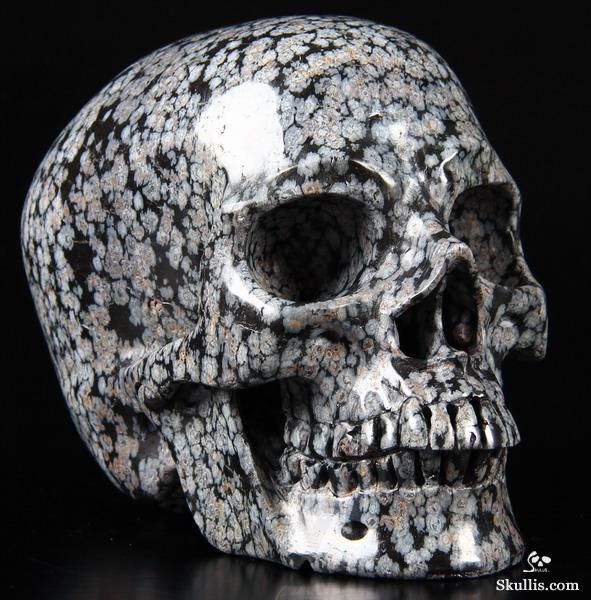 how to make a obsidian skull