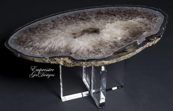 Furniturebowls :: Tables :: Geode Decor & Lamps, Mineral Accessories, Amethyst, Rocks, Quartz Crystals, Agate tables | Dallas TX | Empressive GeoDesigns