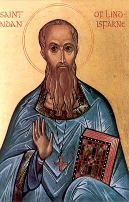 St. Aidan of Lindisfarne - http://orthodoxengland.org.uk/aidan.htm