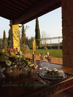 Salviaeramerino blog: Devon and Michael romantic wedding dinner, march 1...