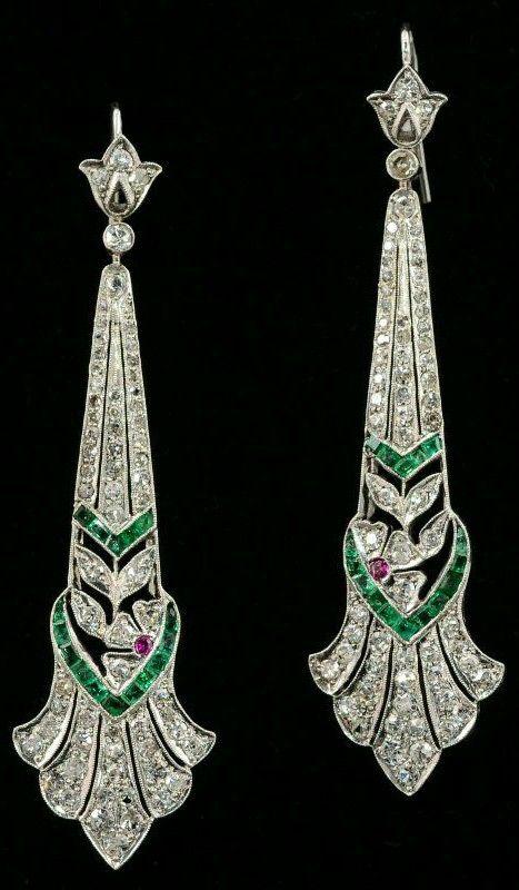Art Nouveau Floral Multi Metal Aquamarine Ring