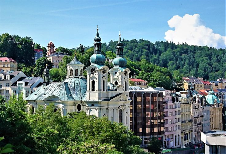 Any angle you choose in Karlovy Vary, Czech Republic, will be stunning!!