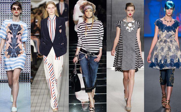 Морские полоски любят все #burdastyle #burda #мода #fashion