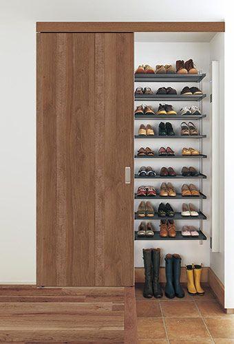 マンションの靴箱スペースをお手軽リフォーム!