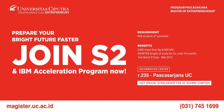 Save your time, save your money! Join our IBM Acceleration Program!