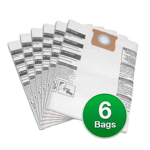 Genuine Vacuum Bag for ShopVac Standard 22 Gallon with inlet Vacuums - 2 Pack
