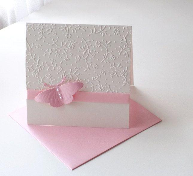 Christening invitation/ Baby shower invitation/ Butterfly invitation/ by mirelaemilia on Etsy
