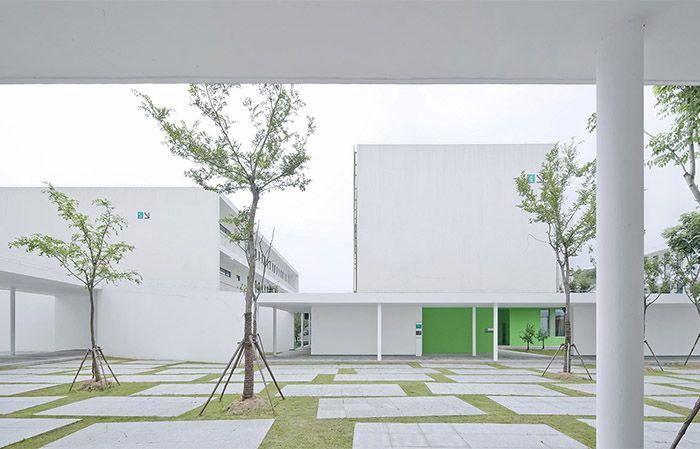 Tao Li Garden Experimental school by Atelier Deshaus 上海嘉定桃李园实验学校 / 大舍建筑设计事务所