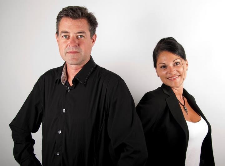 Les propriétaires: Bruno Lamarche et Nancy Doucet.    Crédit: Fanny Lajeunesse