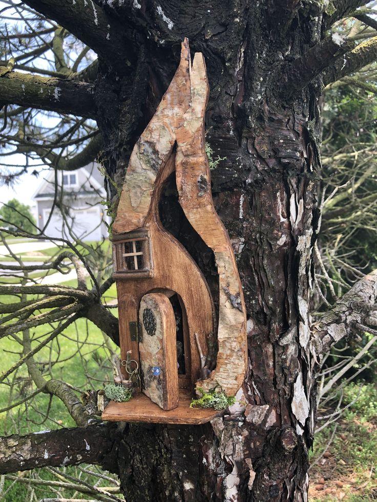 Fairy Door in 2020 Fairy tree houses, Fairy doors, Fairy