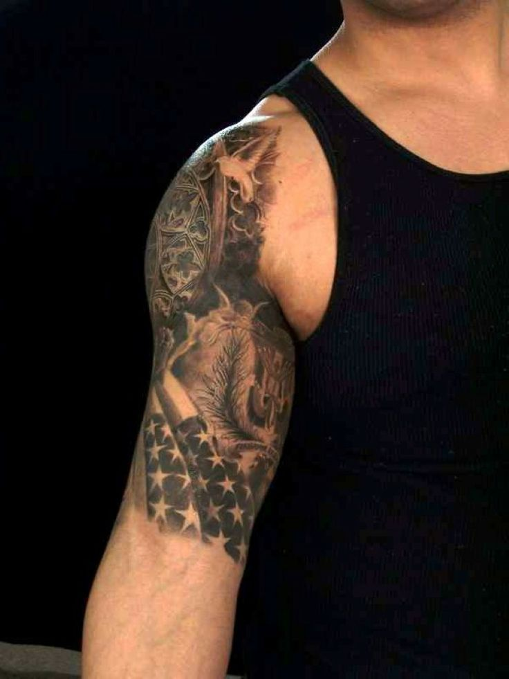 Sleeve Tattoo Image: Half Sleeve Tattoos For Guys