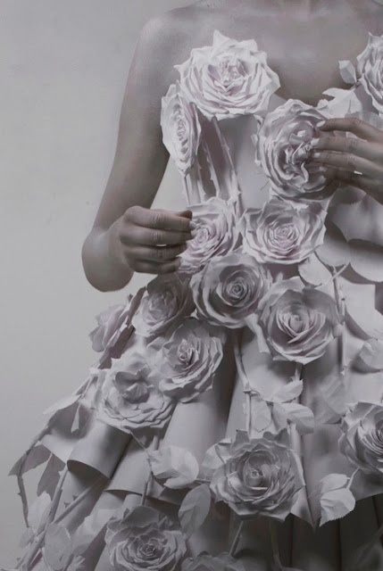 Paper Dress by Mandy Smith