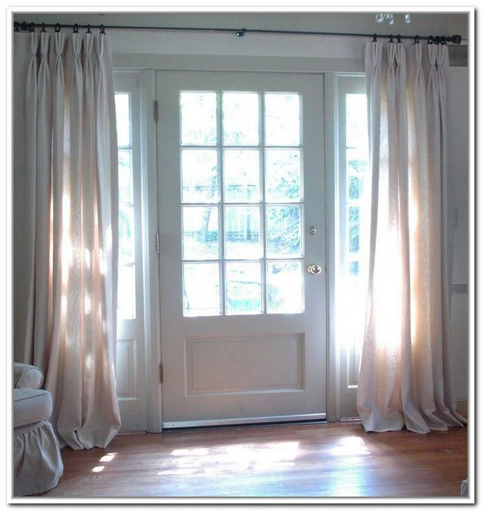 Painting Of Sidelight Window Treatments On The Main Entry Doors Windowcoveringsgarage Curtains Home Depot Painted Front Doors Front Door Curtains