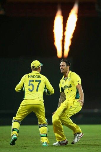 Aussies on fire