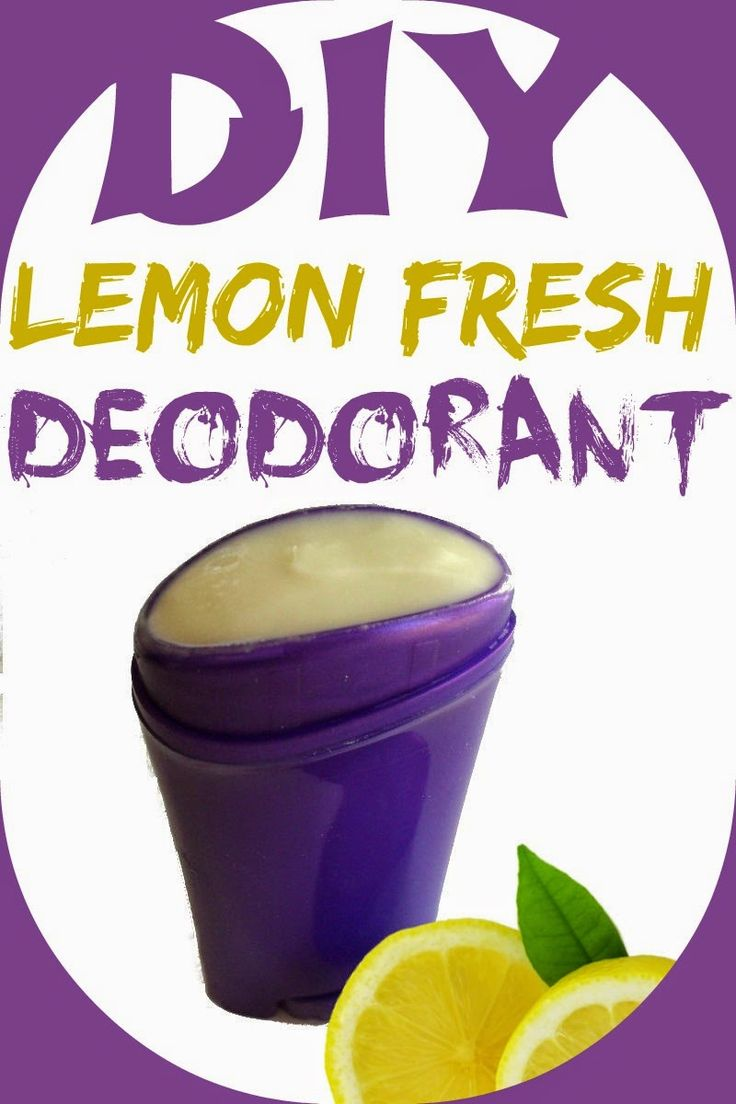Health Matters: DIY Lemon Fresh Deodorant