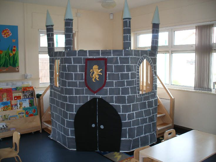 Castle role-play classroom display photo - Photo gallery - SparkleBox