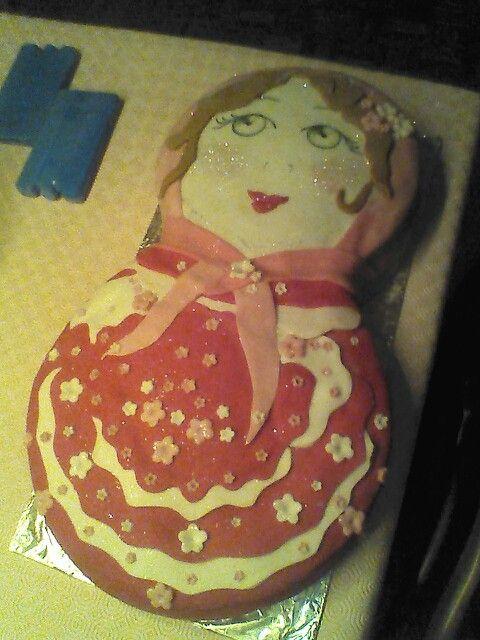 Matryeshka cake