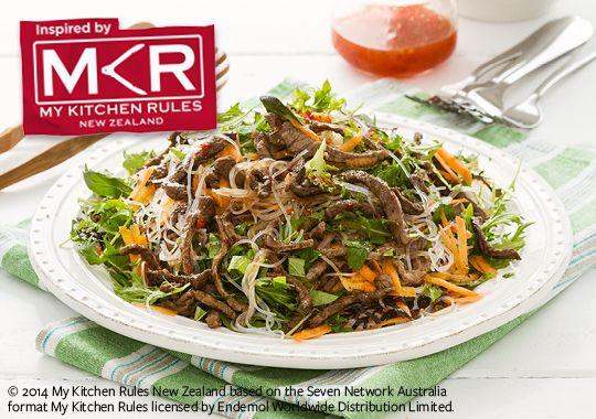 Free thai beef salad recipe. Try this free, quick and easy thai beef salad recipe from countdown.co.nz.