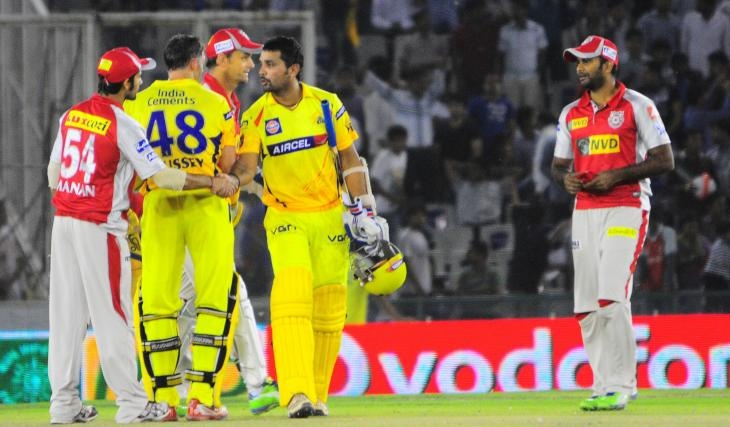 Match 11: Chennai Super Kings vs Kings XI