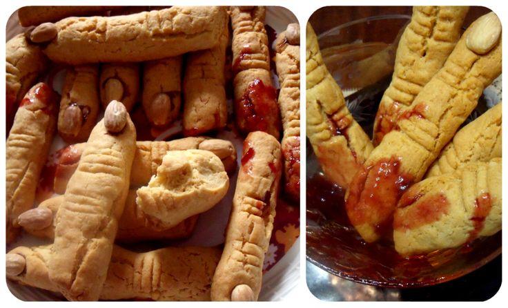 dita mozzate e insanguinate per halloweenPAUROSEEEEEEEEEEE http://blog.giallozafferano.it/profumodidolce/dita-mozzate-e-insanguinate-per-halloween/