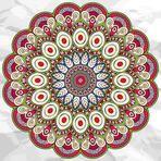 Mandala. Round Ornament vector Pattern. Vintage decorative elements. Hand drawn background. Islam, Arabic, Indian, ottoman motifs.
