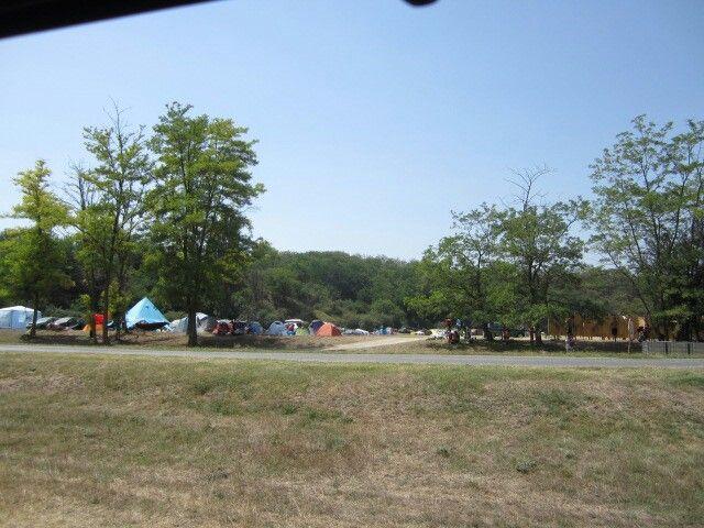 'Ozora festival' In search for a campingspot.