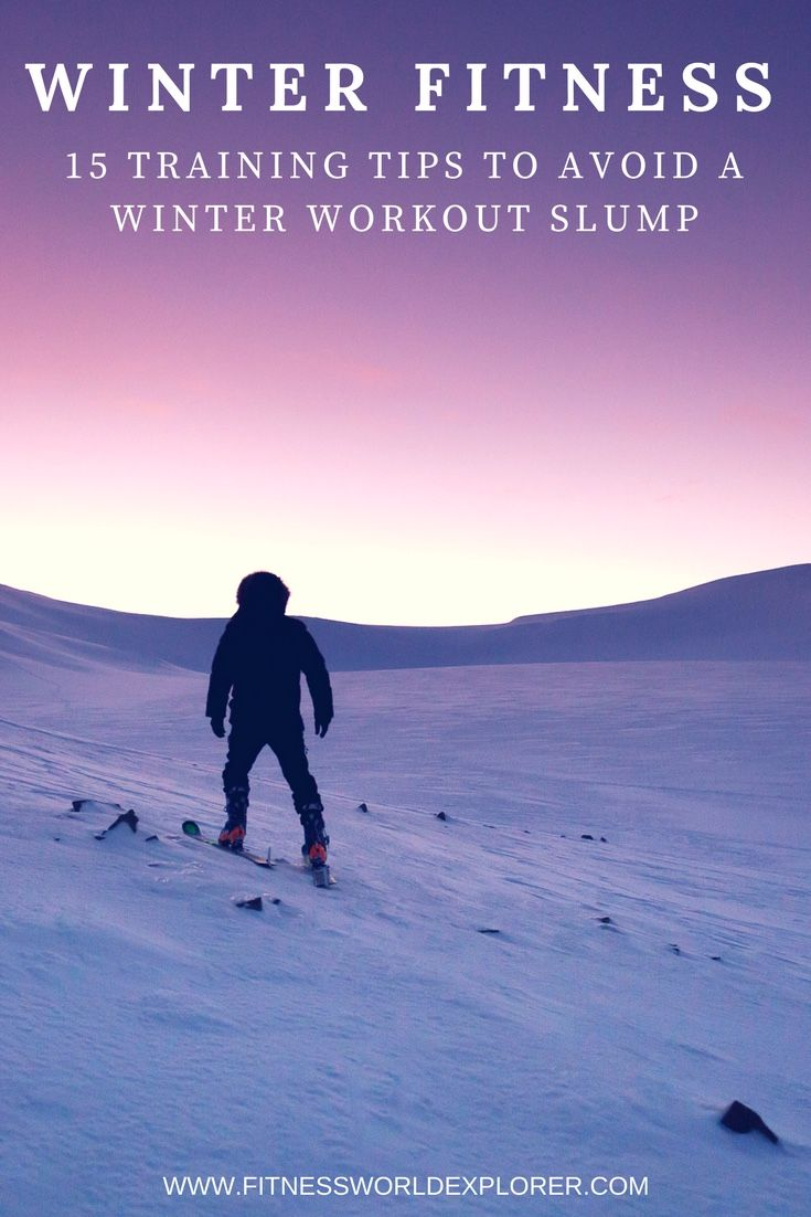 Stay on track through winter with these winter fitness tips.