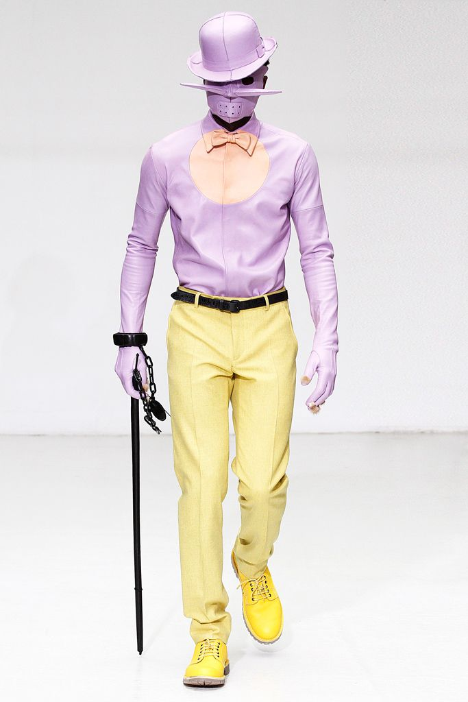 Walter Van Beirendonck   Fall 2012 Menswear Collection   Style.com