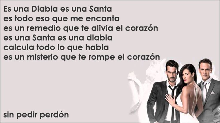 esta mi descripción! Santa Diabla - Aaron Díaz & Carlos Ponce [Canción Completa Con Letra]
