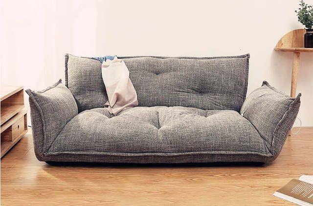 Moderne Design Boden Sofa Bett 5 Position Einstellbar Faul Sofa