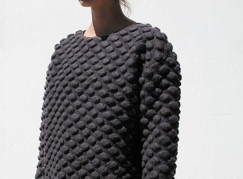 3D sweater