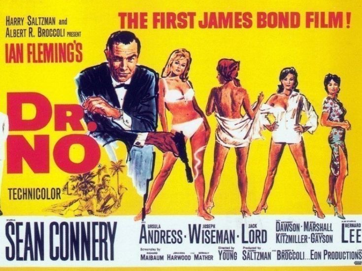 EN IMAGES. James Bond : 50 ans d'affiches