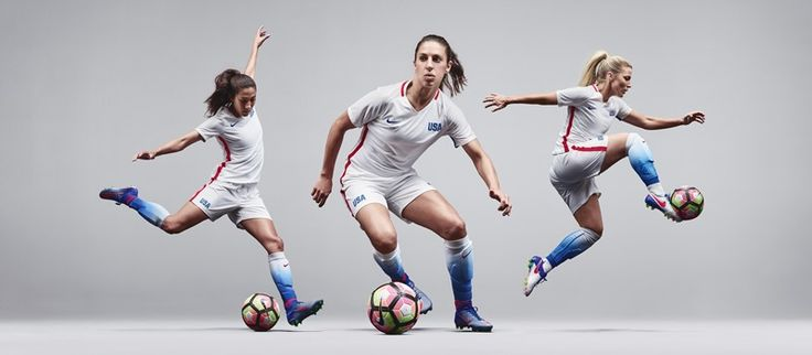 U.S. WNT Unveils New Nike Home Kit for 2016 Olympics - U.S. Soccer⚽️                 I don't know, it's not as nice as the previous ones but it'll be great in Rio with the weather