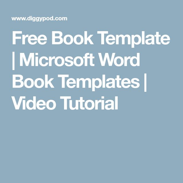 Best 25+ Microsoft word free ideas on Pinterest Free microsoft - free book template for word