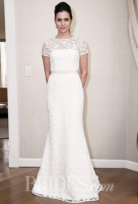 Brides.com: . Wedding dress by Amy Kuschel
