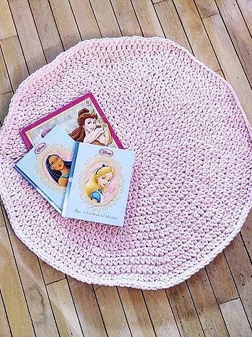 $30 giant circular rug